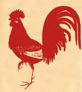 vintage-red-rooster