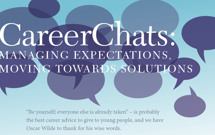 The Xpat journal: CareerChats: Managing Expectations, Moving Towards Solutions