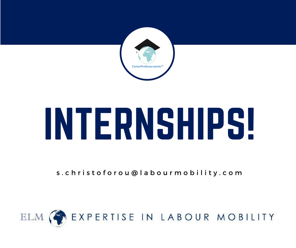 We are offering internships!